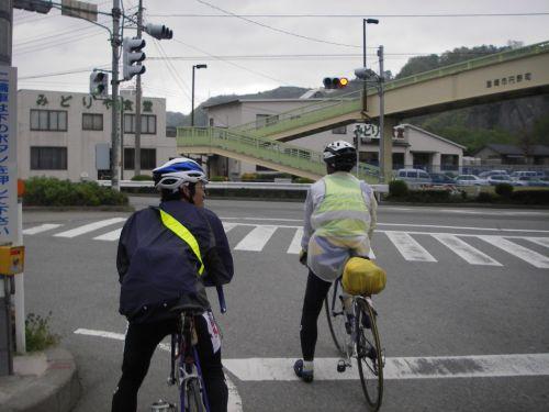穴山橋付近