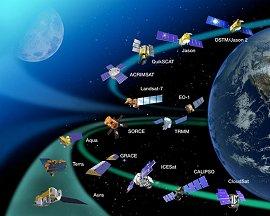 地球観測衛星一覧