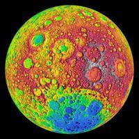 月の裏側の高地