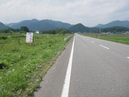 勢至堂峠へ直線