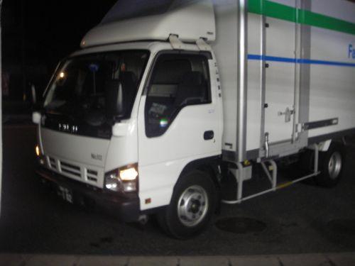 補給のトラック