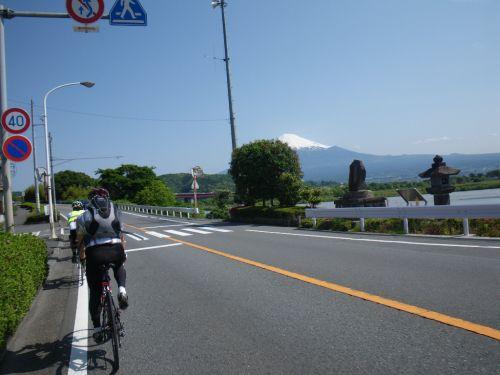身延道からみた富士山