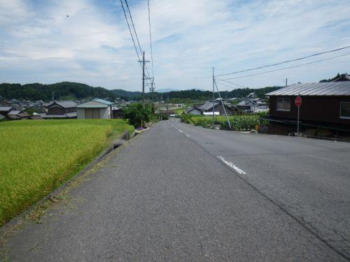 諏訪の集落