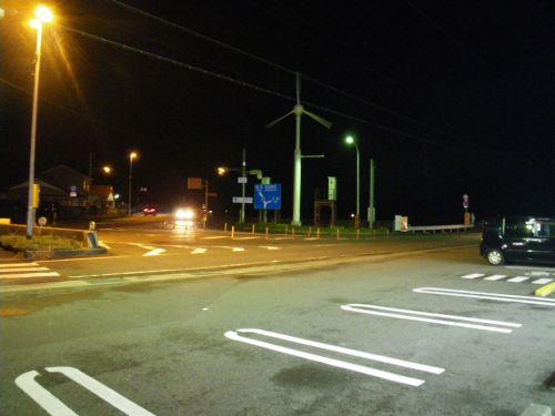 森浦の交差点