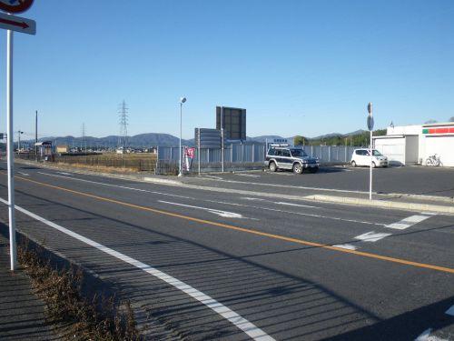 平野町の交差点