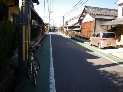 旧東海道の町並み