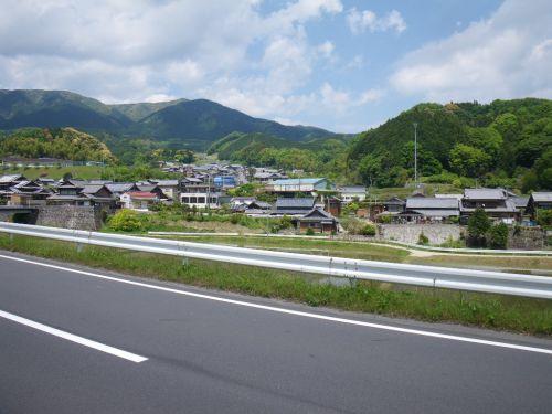 長野の集落