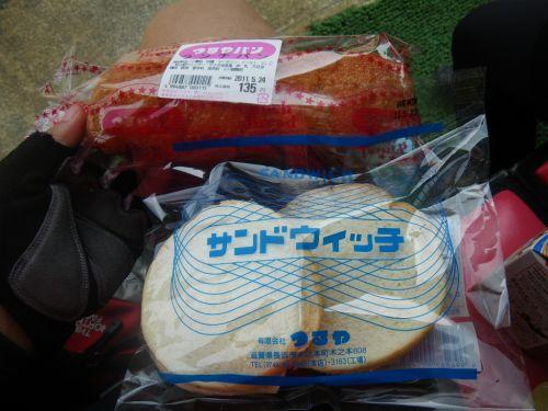 つるやパンのサンドウィッチとランチパン