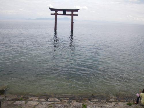 琵琶湖白鬚神社