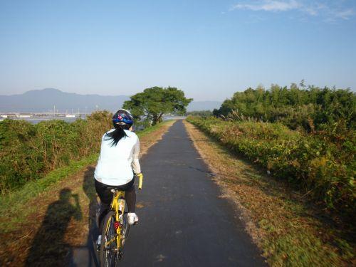 草津川自転車道