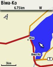 eTrex30内蔵地図