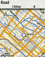 修正後OSMファイルから作った地図