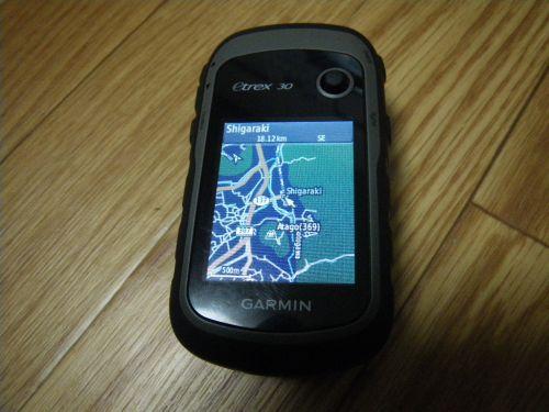 eTrex30にOpenStreetMap
