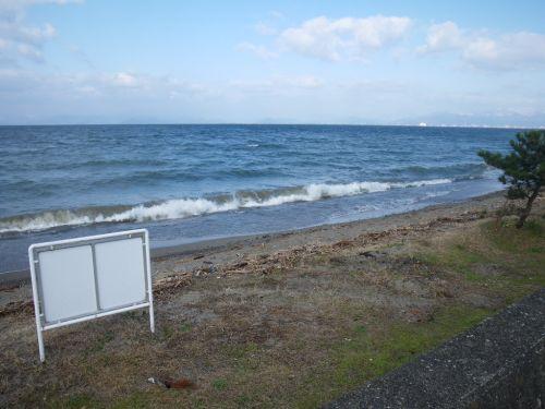 琵琶湖荒れ模様