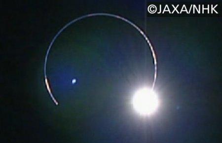 かぐや撮影の日食